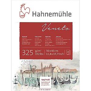 Bloco Aquarela Veneto 30x40 Rough Cold Pressed 325 g/m² Hahnemuhle