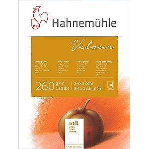 Bloco Pastel Velour  260 g/m² 24x32 Branco 10 Folhas