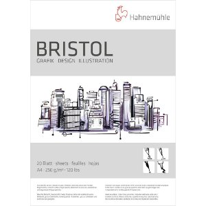Bloco Bristol A4 Hahnemuhle 250 g/m² 20 Folhas Ilustração