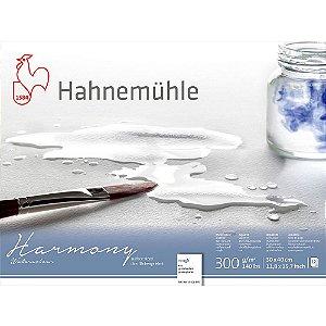 Bloco Aquarela Harmony 300 g/m² Rough 30x40 Hahnemuhle