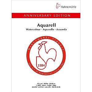 Bloco Aquarela Anniversary 425 g/m² Cold Pressed 30x40 15Fls Hahnemuhle
