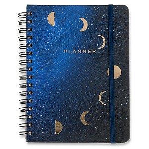 Planner Cicero A5 Astral Lua Wire-o Mensal e Semanal