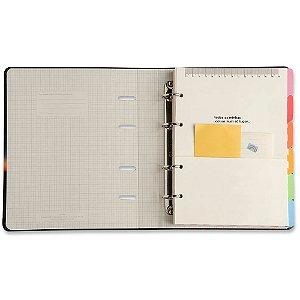 Caderno Fichário Cicero Criativo Azul Pastel Pautado