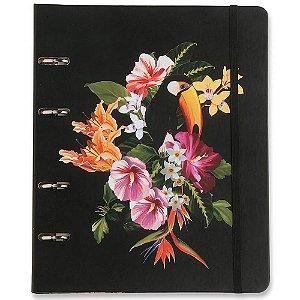 Caderno Fichário Criativo Cicero Fauna Tropical