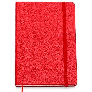 Caderneta Clássica Cicero Pautada Vermelha 14x21 160 Fls