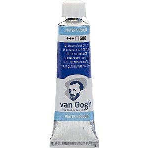 Tinta Aquarela Van Gogh 506 Ultramarine Deep 10Ml Talens