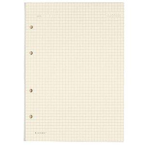 Refil Caderno Fichário Criativo Cicero 40Fls 80g Quadriculado Polen