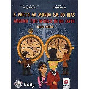 Volta Ao Mundo Em 80 Dias (A) (Bilíngue Inglês)