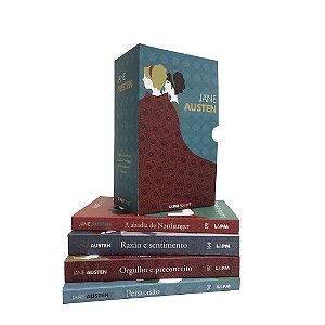 Caixa Especial Jane Austen com 4 Volumes - (Bolso)