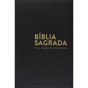 Bíblia Sagrada Nvt Luxo Preta - Letra Normal