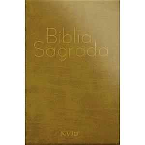 Bíblia Sagrada Nvi Grande 2 cores - Capa Especial Girafa
