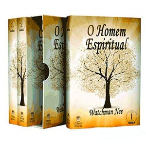 Box O Homem Espiritual Volumes 1, 2 e 3