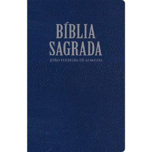 Bíblia Sagrada Rc Extra-Gigante - Capa Luxo Azul