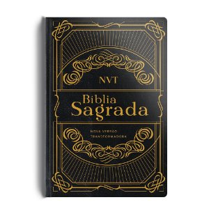 Bíblia Sagrada Nvt Semi Luxo - Preta
