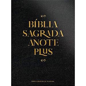Bíblia Anote Plus Arc - Capa Semi-Luxo Preta