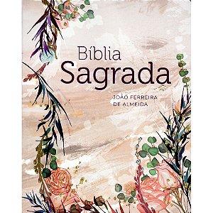 Bíblia Sagrada Arc - Capa Brochura - Flor Marmorizada