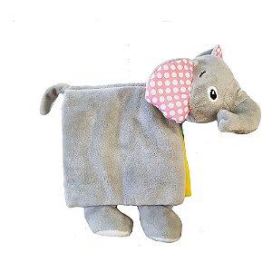 Doces Filhotes De Pano: Elefante