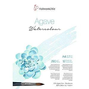 Bloco Agave Watercolour Hahnemuhle A4 Textura Fina 290g/m² 12 Folhas