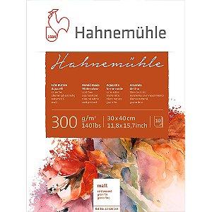 Bloco Aquarela Hahnemühle 30x40cm Cold Pressed 300g/m² 10 Fls