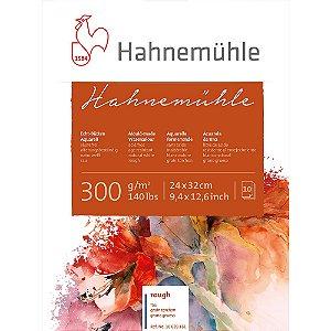 Bloco Aquarela Hahnemühle 24x32cm Rough 300g/m² 10 Fls
