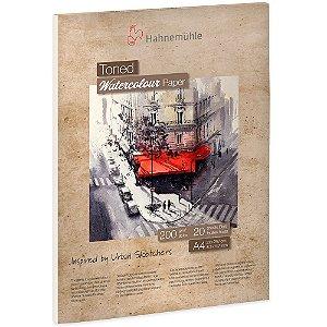 Bloco Aquarela Toned Watercolour Bege A4 200g/m² 20 Fls Hahnemuhle