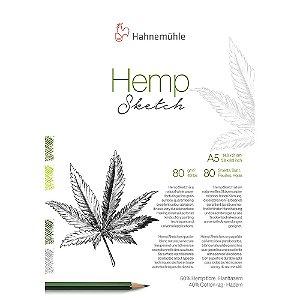 Bloco Hemp Sketch A5 80g/m² 80 Fls Hahnemuhle