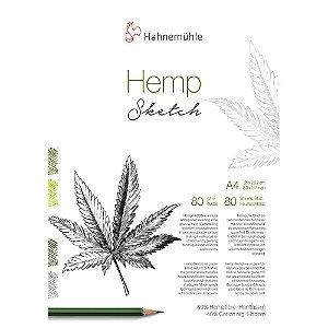 Bloco Hemp Sketch A4 80g/m² 80 Fls Hahnemuhle
