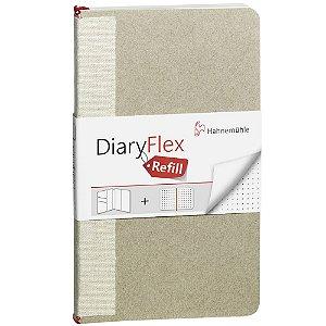 Refil Caderno Diary Flex Pontilhado 18,2x10,4cm 100g/m² 80 Fls Hahnemuhle