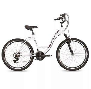 Bicicleta Mormaii Aro 26 Q17 Alum.Sunset 21v Bco/Lilas