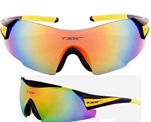 Oculos Preto/Amarelo Vitalux
