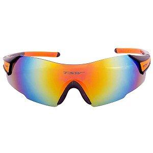 Oculos Preto/Laranja Vitalux