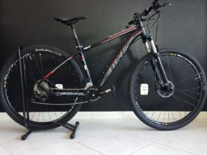 Bicicleta 29 Vicinitech V6.0 Deore 2x10 Freio Hidraulico Suspensao Elleven trava no ombro