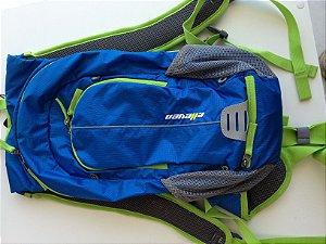 Mochila bike Elleven azul verde