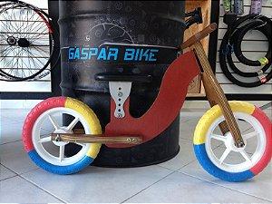 Bicicleta Equilibrio Infantil madeira