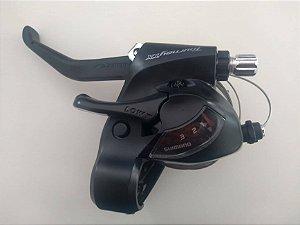 Alavanca Cambio/Freio Tourney ST-TX800 3V