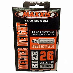 Camara Maxxis Welter Weight 26x1.0/1.25 VPresta