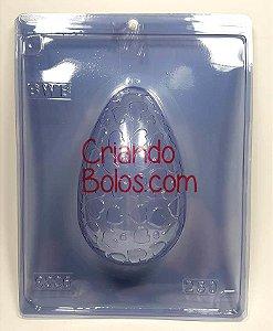 Forma Silicone OVO 250g Texturizado Coração