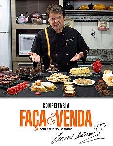 DVD Confeitaria FAÇA E VENDA Chef EDUARDO BELTRAME