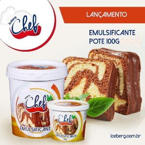 Emulsificante Especial para BOLOS Iceberg  Chef - 100g