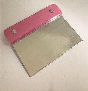 Raspador INOX 10cm X 12cm ROSA
