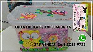 Caixa Lúdica Psicopedagógica