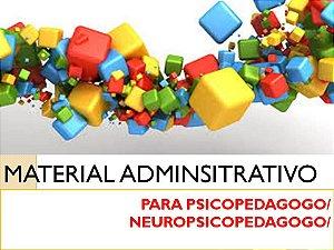 Fichas de Atendimentos Psicopedagógico