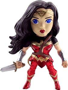 "Metals Die Cast - Mulher Maravilha - Wonder Woman 4"" - DC Comics - Jada Toys"