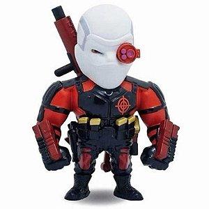 "Metals Die Cast  - Pistoleiro - Deadshot 4"" - Esquadrão Suicida - Jada Toys"