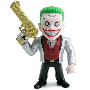 "Metals Die Cast - Coringa Boss - The Joker Boss 4"" - Esquadrão Suicida"