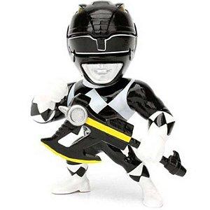 "Metals Die Cast - Ranger Preto - Power Rangers - 4"" - Jada Toys"