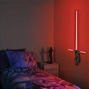 Luminária Sabre de Luz Kylo Ren - Star Wars - Uncle Milton
