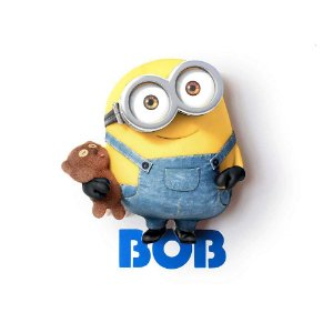 Mini Luminária Bob - Minions