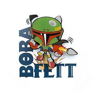 Mini Luminária Boba Fett - Star Wars