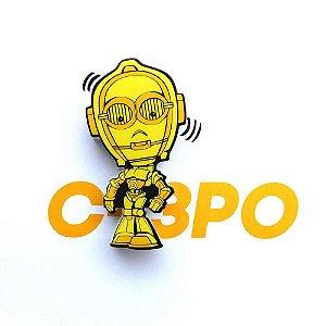 Mini Luminária C3PO - Star Wars